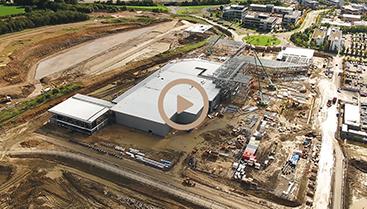 GMI Leeds Thorpe Park Drone Videography