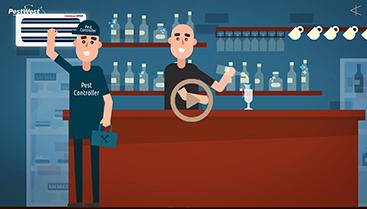 Pest West 2d animation explainer video