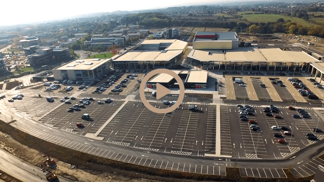 GMI Thorpe professional drone video production