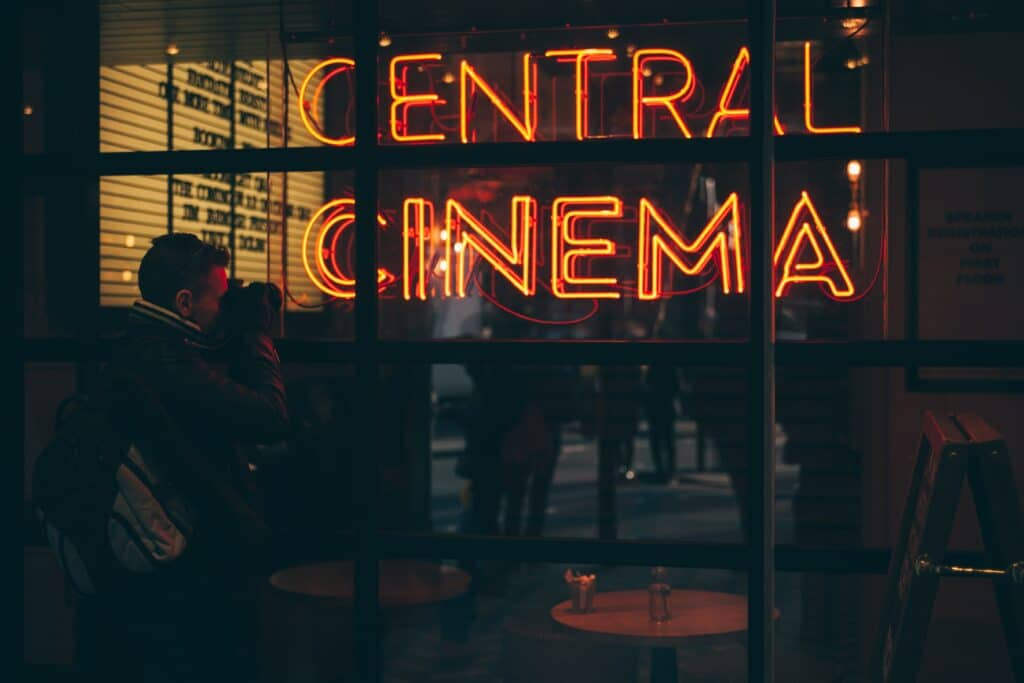 The Slow Decay of Cinema 1