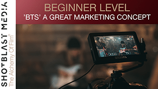 'Behind The Scenes' A great marketing concept: Beginner level 7