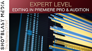 How to edit in Premiere Pro & Audition: Expert level 4