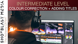 How to colour correct footage and add titles in Adobe Premiere Pro: Intermediate level 5