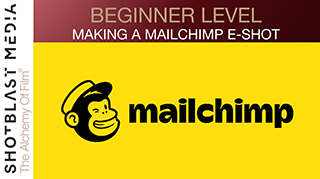 How to make an exciting Mailchimp E-Shot: Beginner level 2
