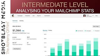 Analysing your Mailchimp E-shot report: Intermediate level 1