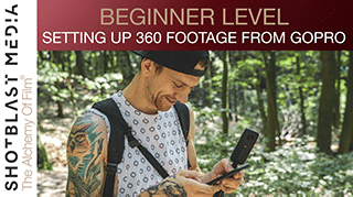 Setting up your 360 footage from a GoPro: Beginner level 1